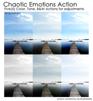Chaotic Emotions Actions by laceratedwristsstock