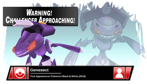 SSB4 Banner: Genesect