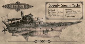 Steam Yacht