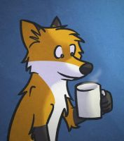 A warm cup of anything by LeeyFox
