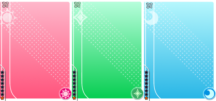 Love Live! Normal blank cards by blackstar-shine