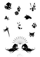 Nightprowler 2 - Small logos by Agalanthe