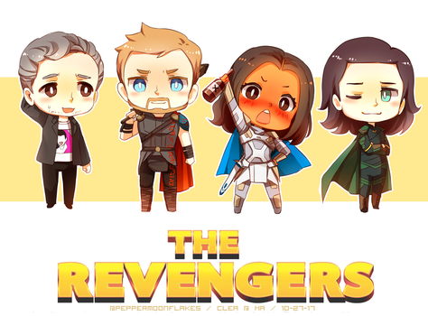.: The Revengers! :. by PepperMoonFlakes