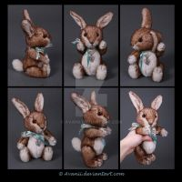 FOR SALE Teddy: Coby the Rabbit by Avanii