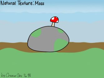 An Rock because is Moss by CreativeArts723