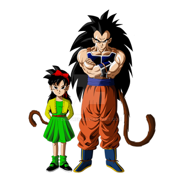Ranch and Raditz by DBZTrev