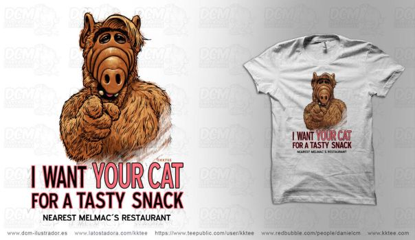 I want your cat by kktee by CASTELLO