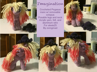 Crochet Pony for Alexis25 by zomgmad