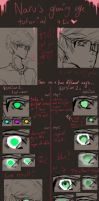 Glowing eyes tutorial by ClassyNaru