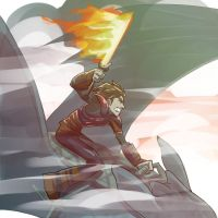 Hiccup Riding Toothless by antzvu