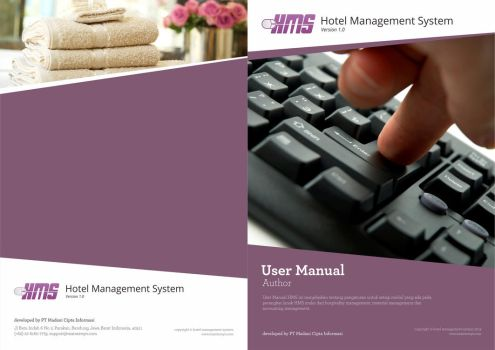 User Manual Cover for HMS Product by dradesigner