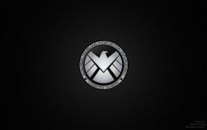 Displaying 13 Images For - Marvel Shield Wallpaper by beardedwerebear