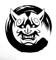 Logo Graphics for Oni Martial Arts, AB by animaddict