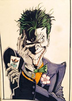 The Joker!!!!!!!!!!! by Nick-Bray
