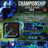 League of Legends HUD - Championship Skins by AliceeMad