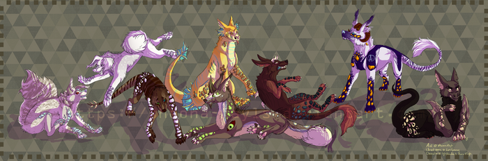 Canoras pack's in color by Sheona-Fayls