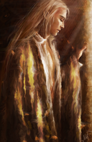 Autumn Thranduil by Kaprriss