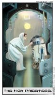 Star Wars Tarot: The High Priestess by theory-of-everything
