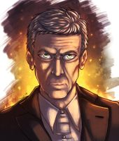 Twelfth Doctor by howlingvoice