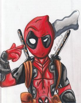 DeadPool by EmilyBandicoot1234
