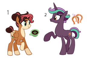 2 NG Pony Adopts [OPEN 1/2] by flipwix