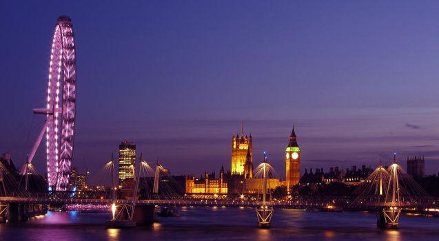 London Nights by tyt2000