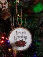 Season's Greetings Ornament by Mattsma