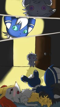 What Espurr saw... by unknownlifeform