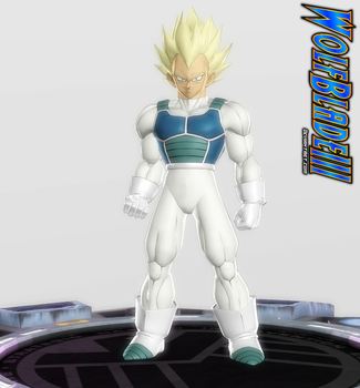 I'm The Prince of All Saiyans. by WOLFBLADE111