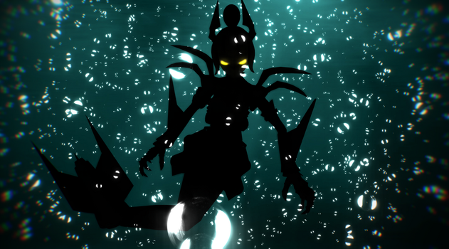 [MMD Cuphead] What lurks in the Deep by DrStinger