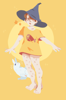 the no-pants witch by badgrl675