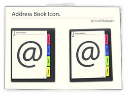 Address Book Icon. by SmellTheRoses93