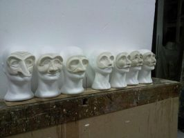 theatrical masks by Theatricalarts
