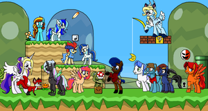 Super Mario Bronies by EmeraldBlast63