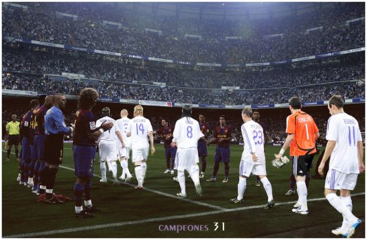 Real Madrid vs Barcelona campe by DaShiR