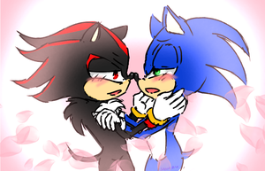 Sonadow Yaoi by SailorRick