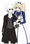 Jack x Alois: You look so lonely by CheshireCat2186