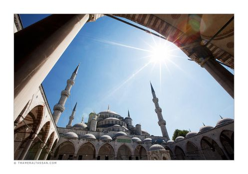 Sultan Ahmed Mosque 2 by tyt2000
