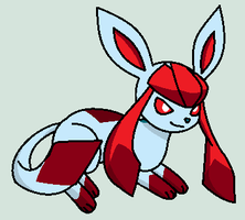 Ruby The Glaceon by nerotoxin06