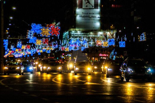 Bucharest ready to celebrate New Year by ice4you