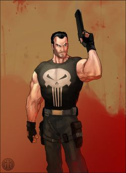 The Punisher by mullerpereira