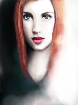 Hayley Williams by Poppeelee
