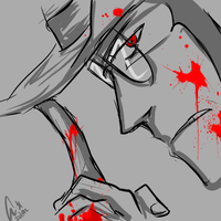 Bloody 'ell by chainedsinner