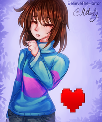 Frisk Collab by BelieveTheHorror