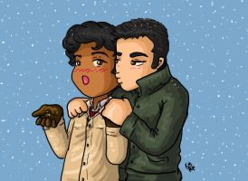 First Snow by iluvbsbkevin