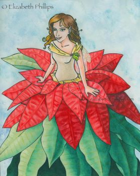 Poinsettia Surprise by ElizabethPhillips