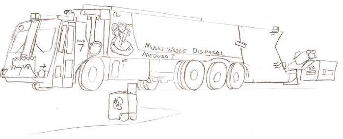 Maki Waste Disposal Packer 7 by Tracksidegorilla1