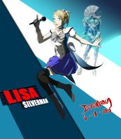 Commission: Lisa Silverman-Persona 4 Arena Ultimax by DeathNapalm