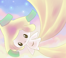 Jirachi by aquabluu