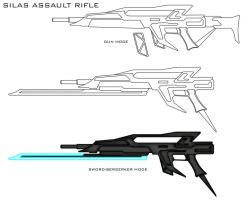 Silas Assault Rifle by The-Xie